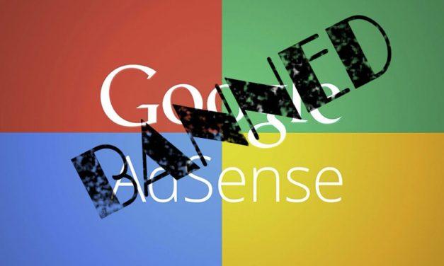 Как жить после бана в Google Adsense?
