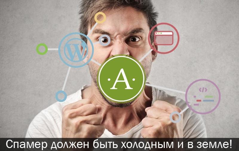 Akismet плагин WordPress для защиты от спама