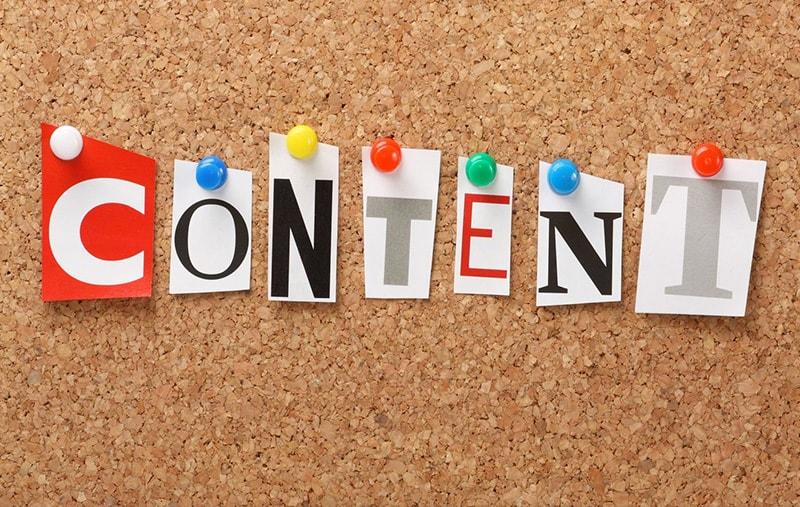Каким должен быть контент и последующий его PR