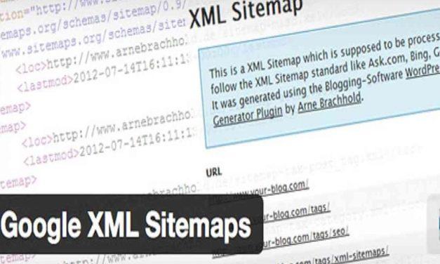 Качественная карта сайта вместе с Google XML Sitemaps