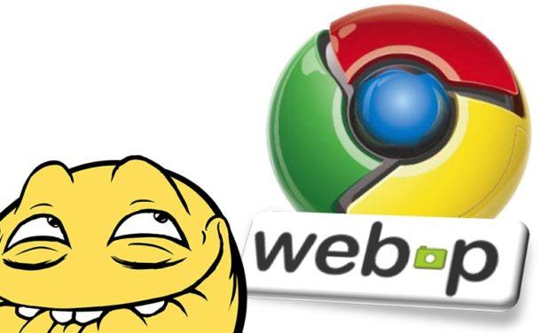 WebP: формат сжатия изображений от Google