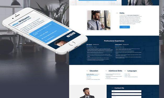 Как должен выглядеть сайт-визитка: дизайн и контент