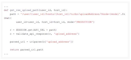 Шаблон для работы с API Турбо-страниц