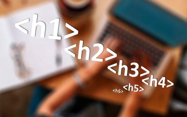 Правила расстановки и составления тегов h1-h6